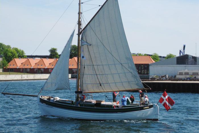 Segelboot Kopenhagen