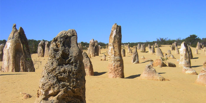 Pinnacles in Australien