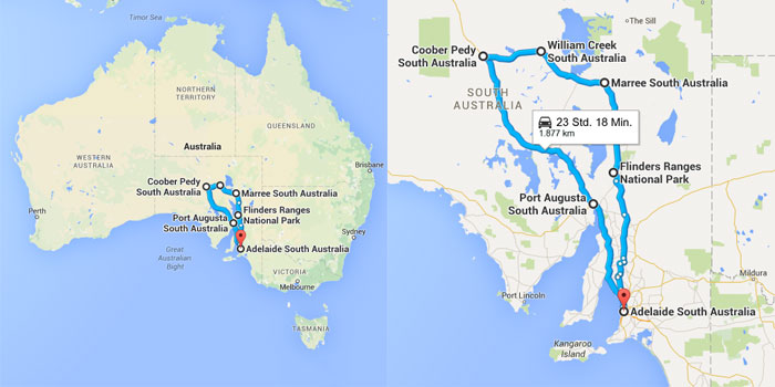 Roadtrip Australien von Backpacking Hacks