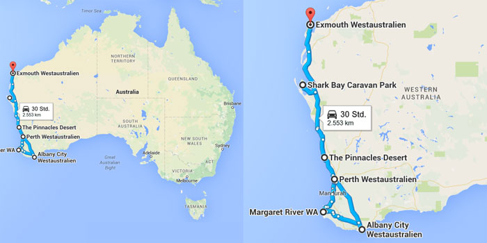 Roadtrip Australien von Off the Path