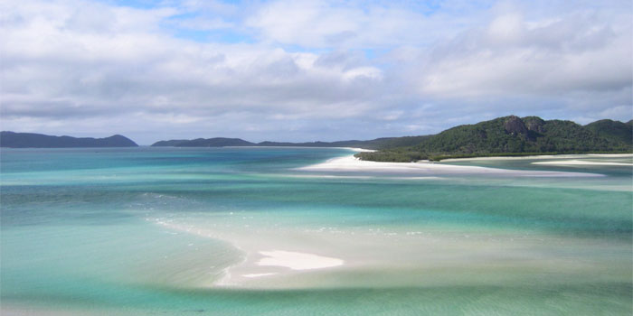 Whitsunday Islands in Australien