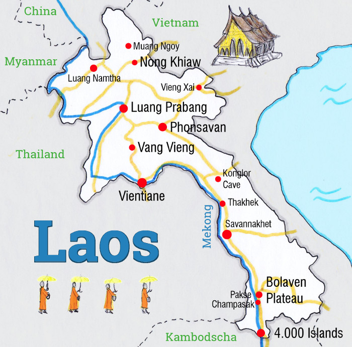 laos-backpacking-karte