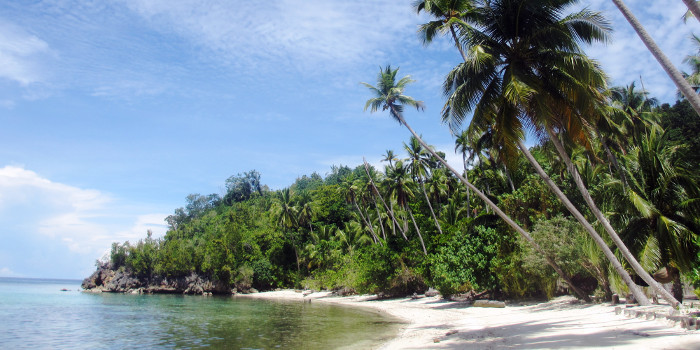 strand sulawesi indonesien togean inseln