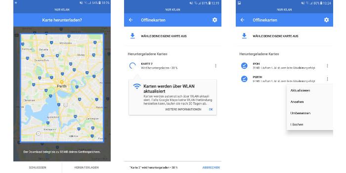 Backng Hacks | MAPS.ME oder Google Maps: Was ist besser fürs ... on