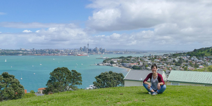 Auckland work and travel neuseeland franziska